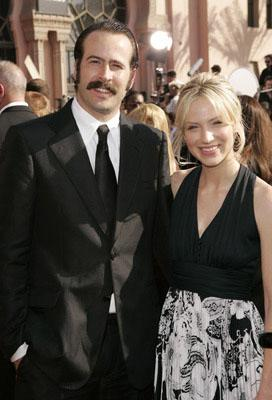 Jason Lee and Beth Riesgraf Emmy Awards Arrivals - 9/18/2005
