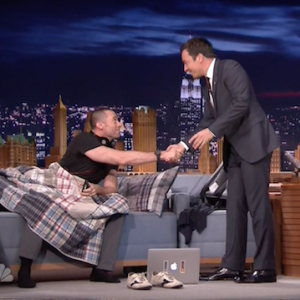 Why is Hugh Jackman Sleeping on Fallon's Couch?