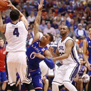 Kansas Escapes TCU
