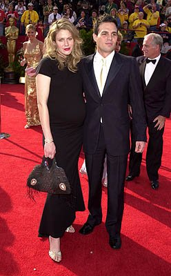 Mark Ruffalo and wife Sandra 73rd Academy Awards Los Angeles, CA  3/25/2001