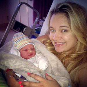 Meet Tiffani Thornton's Baby Boy KJ!
