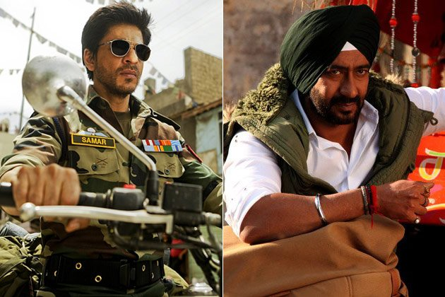 It&amp;#39;s Shah Rukh vs Ajay Devgn this Diwali