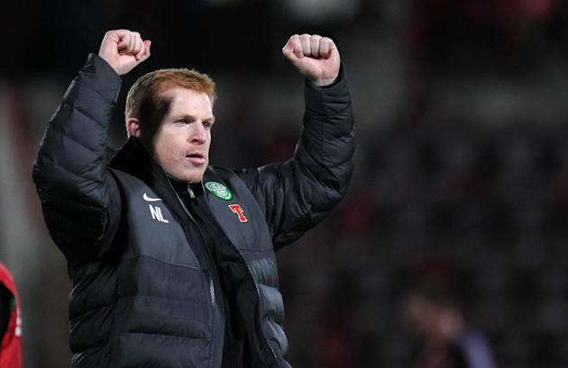 Neil Lennon was delighted with Celtic's performance as they beat Hearts