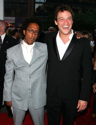 Premiere: Andre Royo and Dominic West at the New York premiere of Revolution Studios' The Forgotten - 9/21/2004 