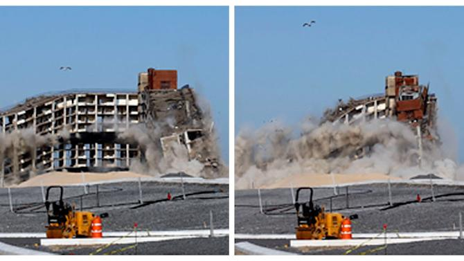 NYC blows up building to make way for new park