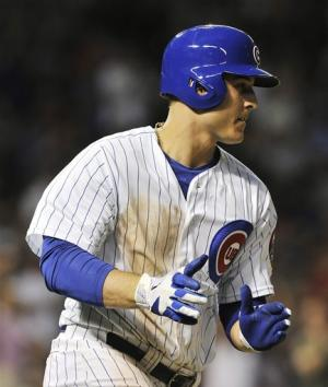 Rizzo leads Cubs past Mets 5-3