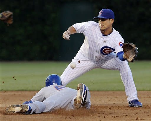 Wood sharp for 7 innings, Cubs beat sloppy Mets