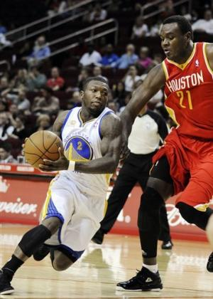 Dragic, Parsons lead Rockets' rout of Warriors