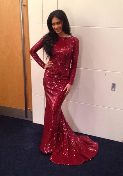 Nicole Scherzinger, The X Factor Final, Sat 8th Dec  Facebook / British Vogue