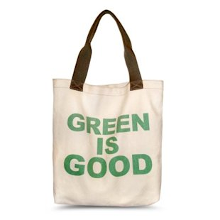 Hayden Harnett Green tote, $27