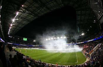 """Red Bull Arena experienced only """"minor"""" hurricane damage"""