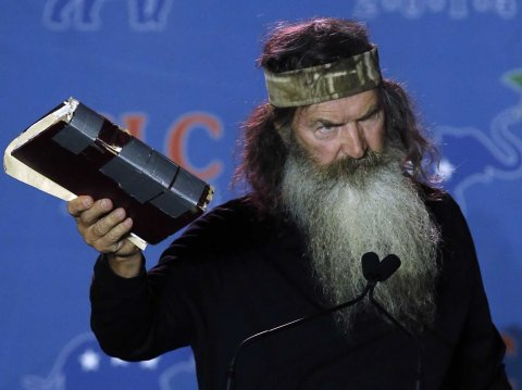 Duck Dynasty' Relative Running For Congress Because 'There Is No God