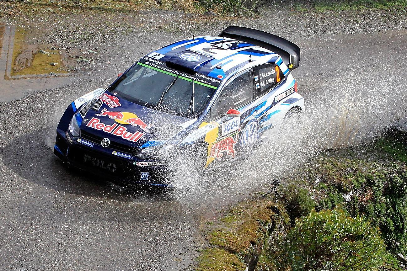 Latvala leads rain-soaked Tour of Corsica
