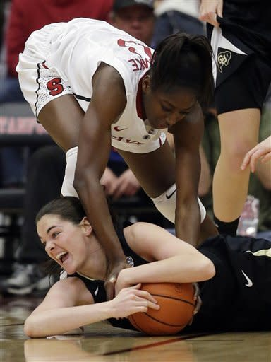 Ogwumike leads Stanford women over Colorado