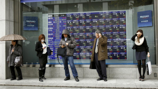 Asia stocks up after deal over Greek debt reached