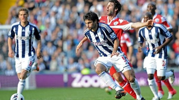 West Bromwich-QPR, Claudio Yacob, October 2012