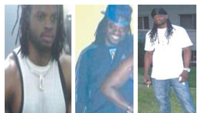 This combination of undated photos provided by the Washington, D.C., police shows Daron Dylon Wint. The police issued a news release late Wednesday, May 20, 2015, saying they are looking for Wint in connection with last Thursday's quadruple homicide of a wealthy Washington family and their housekeeper inside their multimillion-dollar home. (Metropolitan Police Department via AP)