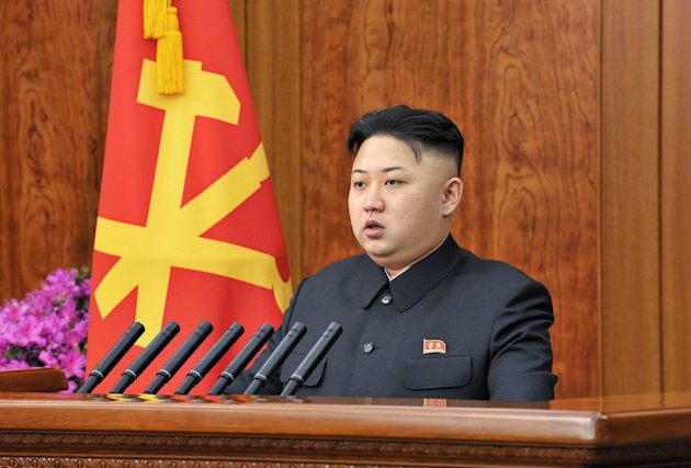 North Korean leader Kim Jong Un. Photo by ZUMA / Rex Features