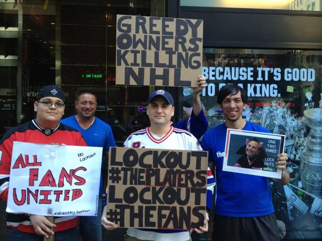 Angry Lockout Fans
