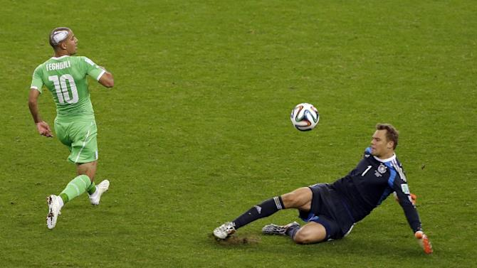 Neuer's heroics save Germany's World Cup