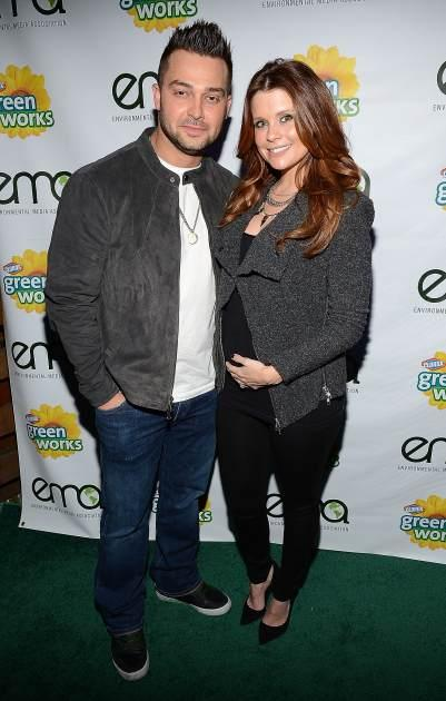 Nick Swisher and JoAnna Garcia Swisher attend Celebrities and the EMA Help Green Works Launch New Campaign at Sur Restaurant on January 23, 2013 in Los Angeles -- Getty Images