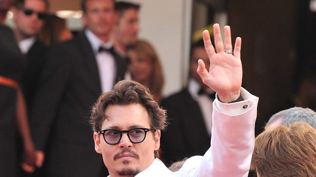 Cannes Film Festival 2011 Johnny Depp