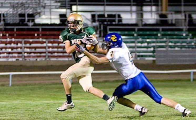 The Pendleton Buckaroos are believed to be the only team in the nation to play in a rodeo arena — Buckaroo Football