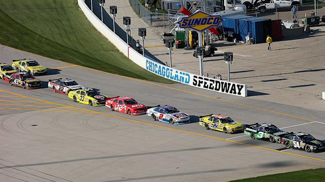 Entry list for Nationwide Series' STP 300