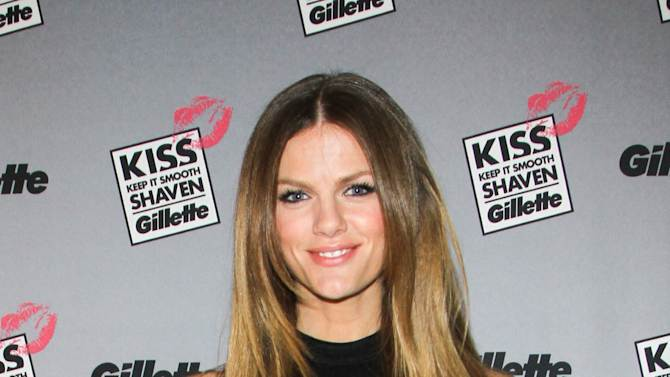 NEW YORK, NY - FEBRUARY 14:  Actress Brooklyn Decker attends The world's largest shave & kiss event with Gillette at Time Warner Center on February 14, 2013 in New York City.  (Photo by Anna Webber/Getty Images for Gillette)