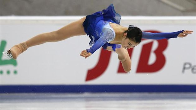 Kanako Murakami of Japan, figure skating (Reuters)