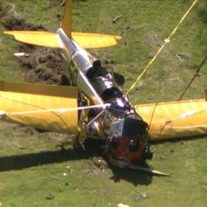 Harrison Ford injured in plane crash on California golf course