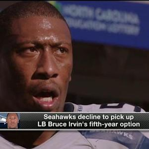 NFL Media Insider Ian Rapoport: Linebacker Bruce Irvin's option too pricey for Seattle Seahawks