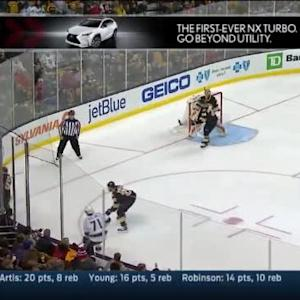 Tuukka Rask Save on Justin Williams (02:54/1st)