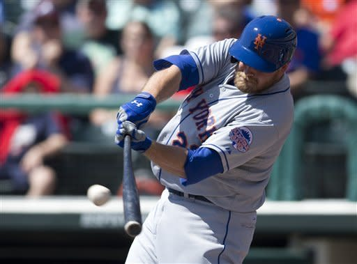 Lucas Duda homers in Mets' win over Braves