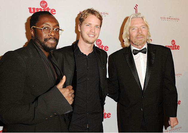 Will I Am Sam Branson Richard Branson Rock The Kasbah