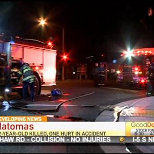 Boy, 12, Killed In Natomas Car Crash