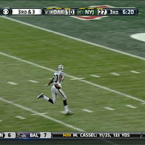 Oakland Raiders wide receiver Rod Streater 48-yard touchdown reception