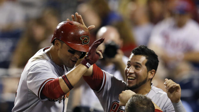 Prado helps D-backs beat Phillies 10-6 in 10