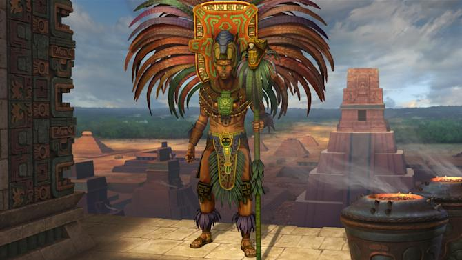 """This video game image released by 2K Games/ Firaxis Games shows a scene from """"Civilization V: Gods & Kings."""" Creator Sid Meier's sweeping turn-based strategy games give players the ability to build and control empires spanning several fictional centuries. While the world depicted in """"Civ II"""" stops evolving in 2020, players can keep going into the future, as a user named Lycerius who posted the details of his ongoing 10-year-long game on the social news site Reddit has done. (AP Photo/2K Games/ Firaxis Games)"""