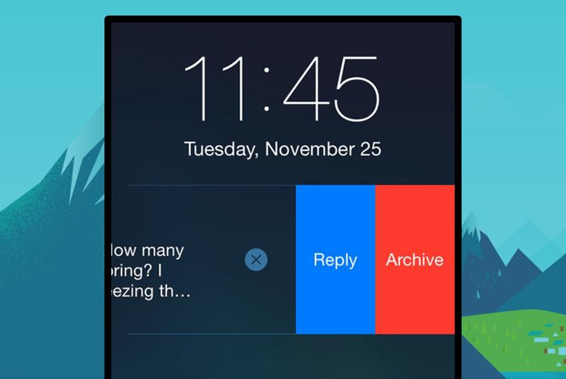Gmail for iOS now lets you archive and reply to email from notifications