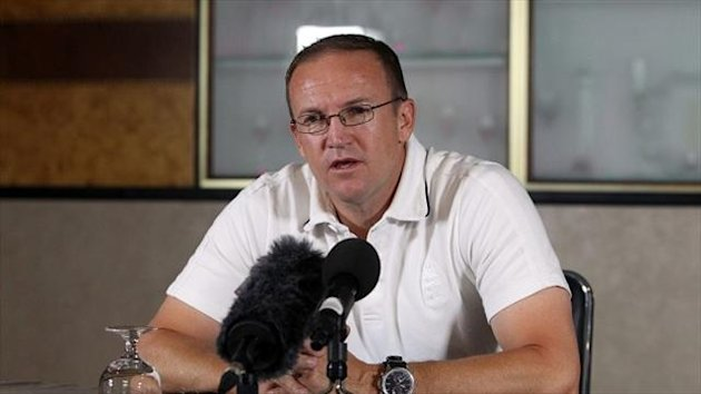 Andy Flower's response to questions over his future might easily be read either way