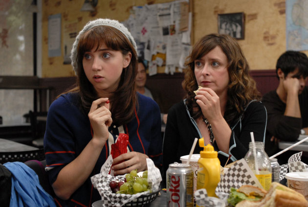 Zoe Kazan Rachel Dratch I Hate Valentine's Day Production Stills IFC 2009