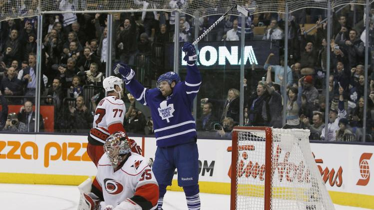 NHL: Carolina Hurricanes at Toronto Maple Leafs