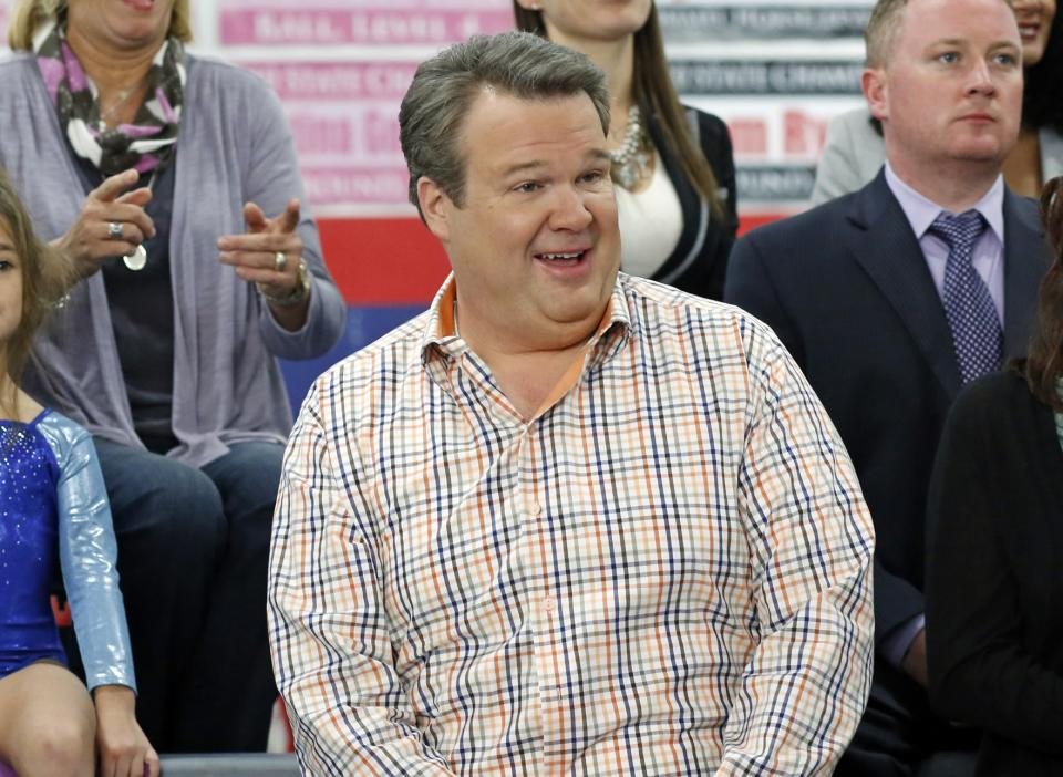 "This image released by ABC shows Eric Stonestreet in a scene from ""Modern Family."" (AP Photo/ABC, Jordin Althaus)"