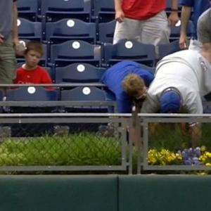 Phillies Fan Pushes 63-Year-Old Lady Out Of the Way to Catch Home Run Ball
