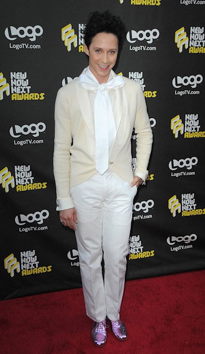 Johnny Weir LOGO Awrds