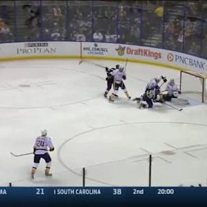 Carter Hutton Save on Ryan Reaves (03:00/1st)