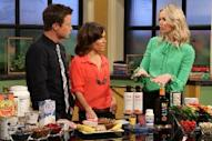 Karlene Karst shares tips on how to lose belly fat with Billy Bush and Kit Hoover on Access Hollywood Live on March 8, 2012 -- Access Hollywood