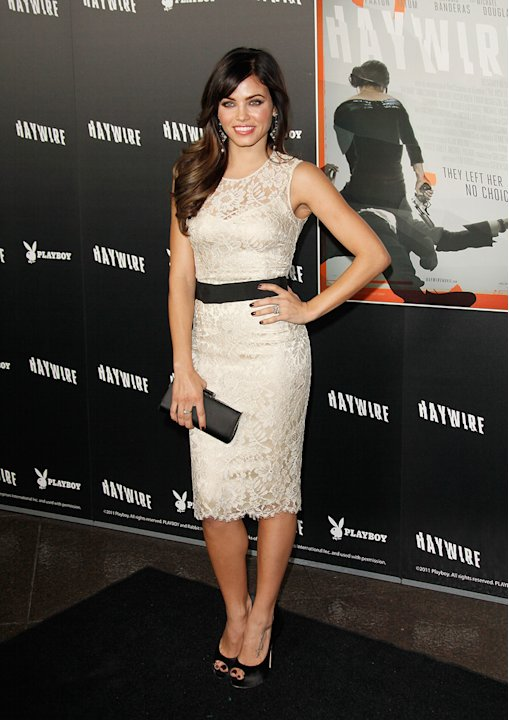 Haywire LA Premiere 2012 Jenna Dewan