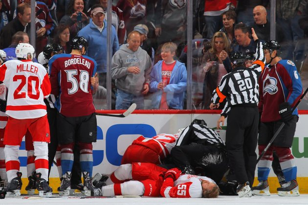 Cody McLeod Gets Five-game Suspension For 'violent Collision' With Wings' Kronwall